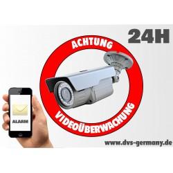 Этикетка - этикетка «предупреждение видеонаблюдения»