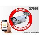 Étiquette - Numéro d'étiquette « attention la vidéosurveillance »