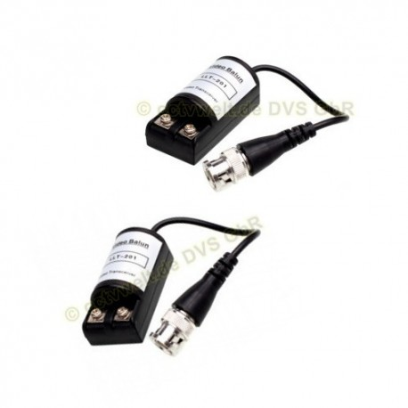 Passive Video-Balun Set CAT5