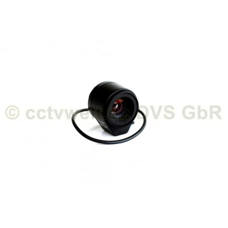 Линзы объектива 8 мм для видеонаблюдения