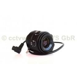 Objectif 4mm Vario-Focal.Auto-Iris pour la vidéosurveillance