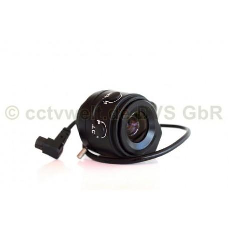 Lente de 4mm Vario-Focal.Auto-Iris para video vigilancia