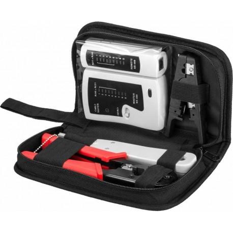 Werkzeugset für IP Kameras- und Netzwerkinstallation