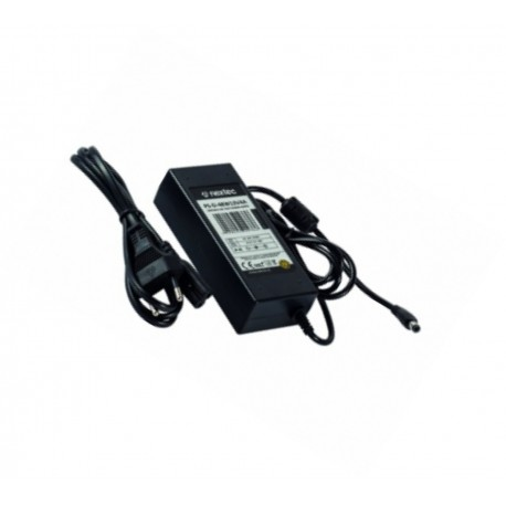 NETZTEIL mit 5,5/2,1mm DC Stecker  IP44 - 12V - 4.0A - 48W 100-240V