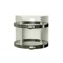 Masthalterung für Kameras - Halterung für Pfosten Masthalter für Masten oder Rohre 118-140mm