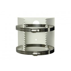 Masthalterung für Kameras - Halterung für Pfosten, Masten oder Rohre 118-140mm