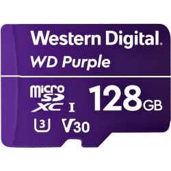 Micro SDXC WD Purple 128GB Surveillance