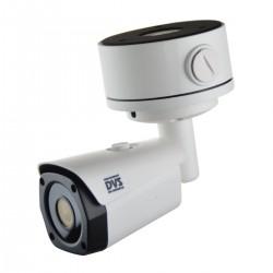 4K Überwachungskamera System inkl. 4x Bullet UltraHD PoE Kameras mit Montageboxen