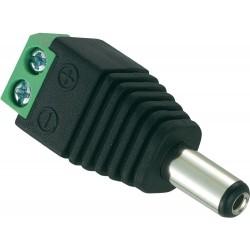 DC-Stecker für Stromanschluss, Niedervoltstecker, Schraubanschluss