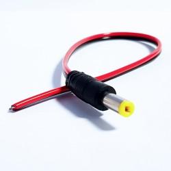 Hohlstecker Stromversorgung für Überwachungskamera