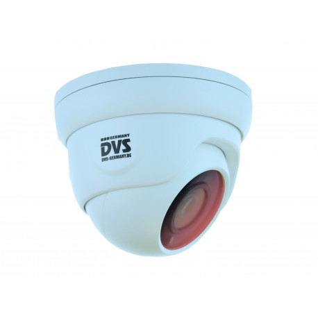 HD camera IP PoE dome for indoor and outdoor wall and ceiling mounting