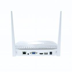 UHD Auflösung WLAN Überwachungskamera Set mit Aufzeichnung 2000 GB WD Speicher