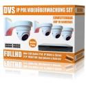 Video und Tonaufnahme Videoüberwachung Set mit 8 Kameras und PoE NVR