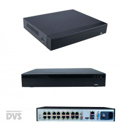 16-Kanal PoE 4K Festplattenrecorder NVR ONVIF IP Kamera Recorder H.265