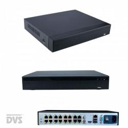 4K Überwachungskamera System inkl. 10x Bullet UltraHD PoE Kameras mit Montageboxen