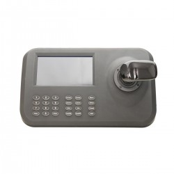Netzwerk PTZ-Steuerpult mit integr. Bildschirm für IP Kameras