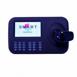 Netzwerk Universal PTZ-Steuerpult mit Bildschirm für IP Kameras Joystick Controller
