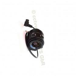 Objektiv 4mm Vario-Focal.Auto-Iris für Videoüberwachung