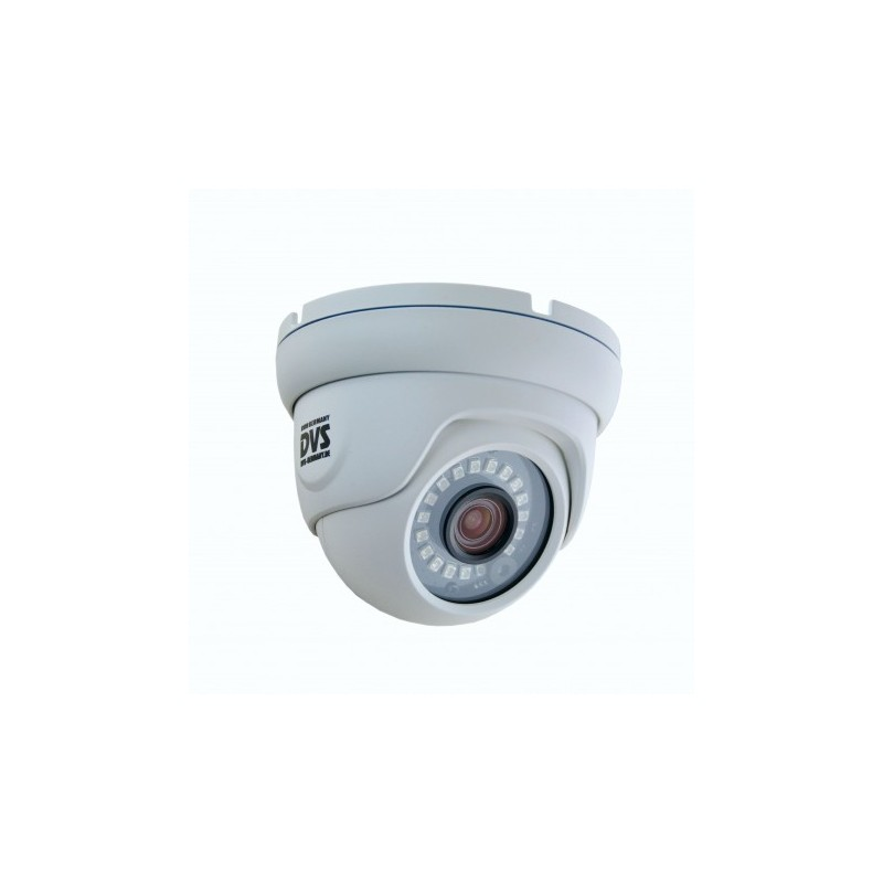 Weatherproof 4K IP PoE Dome Security Camera - Ultra HD network camera with night vision