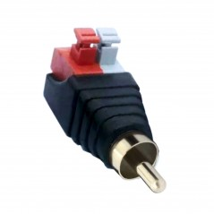 RCA Adapter Terminalblock Female