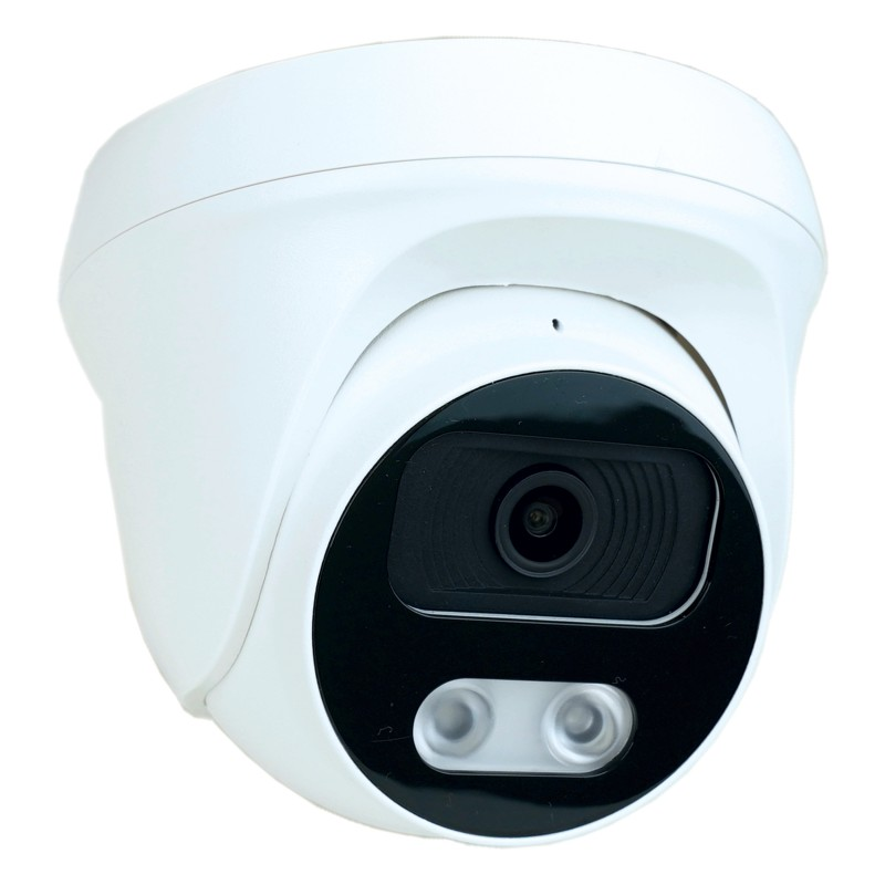 Ultrahd 4K Dome IP67 Camera with Microphone Intelligent Video Surveillance People Detection