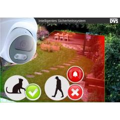 Überwachungskamera Set Aussen Menschenerkennung