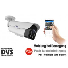 Video surveillance smartphone push notification