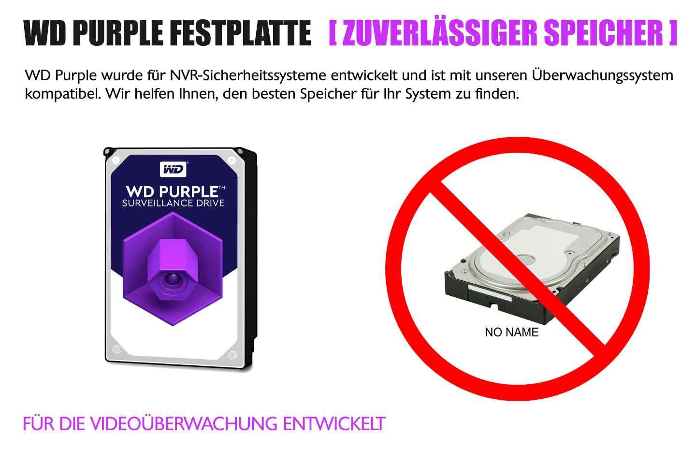 wd purple videoüberwachung