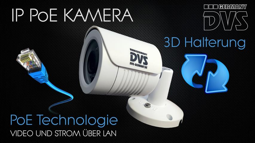dvs professionelle video berwachung 24x ip poe kameras inkl 8000gb recorder und ebay. Black Bedroom Furniture Sets. Home Design Ideas