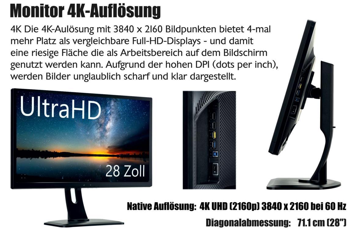 4K Monitor Videoüberwachung