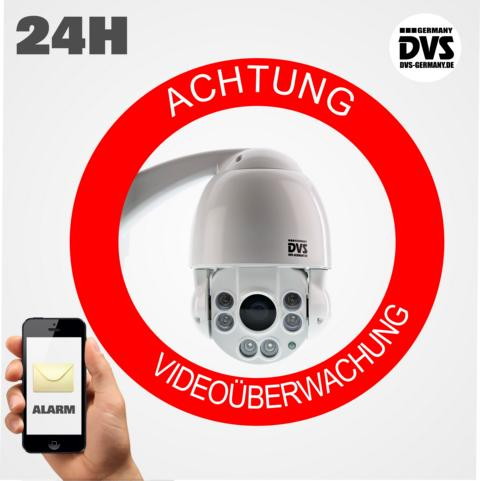 Videoüberwachung-Schild